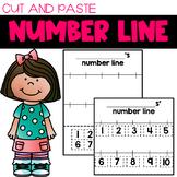 Number Line Craftivity