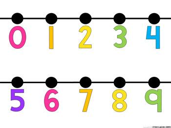 Number Line DECOR (0-120)