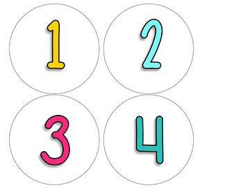 Days in School Number Line Routine