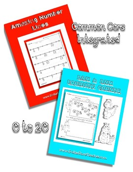 Number Line & Equality Counts Combo ~ Counting Shapes Coin