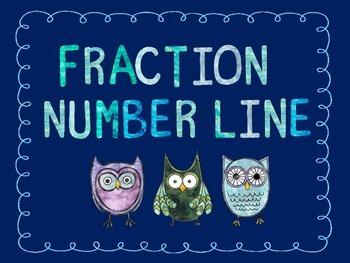 Number Line - Fractions