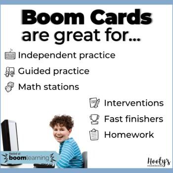 Number Line Fractions Digital Task Cards