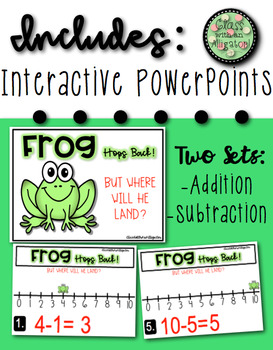 Number Line Fun with Frog