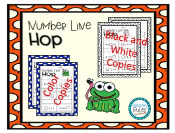 Number Line Hop