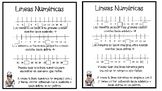 Number Line Interactive Notebook Activity[Spanish version]