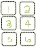 Number Line Labels for Floor
