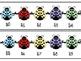 Number Line - Ladybug Theme