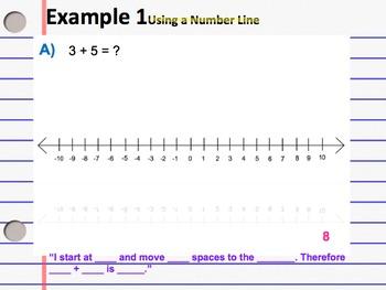 Number Line & Making 0