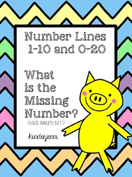 Number Line Math 1-10 and 0-20