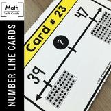 Math Warm Up | Number Line Math Talk Cards