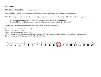 Number Line Mathematics
