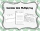 Number Line Multiplication