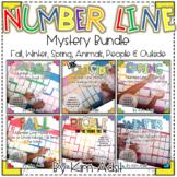 Number Line Mystery Bundle by Kim Adsit