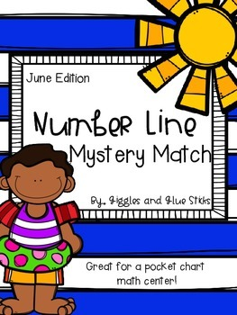 {Free} Number Line Mystery Match