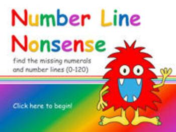 Number Line Nonsense 0-120