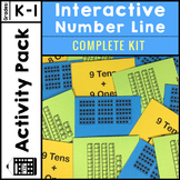 Interactive Number Line Number Sense Activities within 150