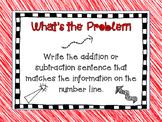 Number Line Number Sentences