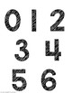 Number Line Numbers Only