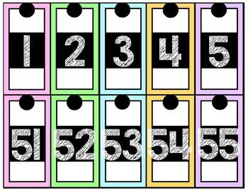 Number Line PASTEL Edition