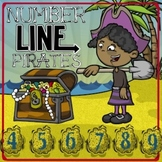 Number Line Pirates -- A Kindergarten Math Game for Number Line Concepts!