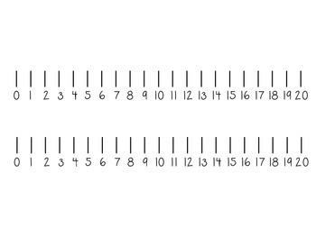 Number Line Printable