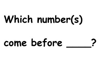 Number Line Questions