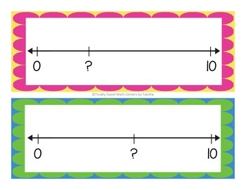 Number Line Quick Images Cards