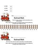 Number Line Railroad Math