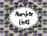 Number Line Resource- FREEBIE!