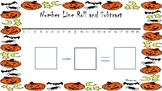 Number Line Roll and Subtract