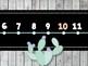 Number Line: Rustic Cactus Classroom Decor