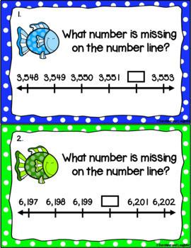 Number Line Scoot Bundle