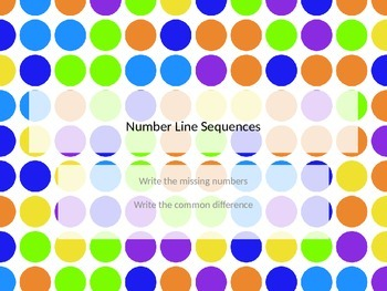 Number Line Sequences