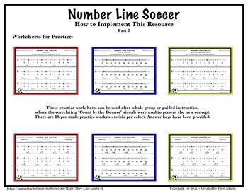 Number Line Soccer