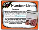 Number Line Addition and Subtraction Activity for Halloween