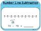 Number Line Subtraction-Teacher Slides (First Grade, 1.NBT.6)