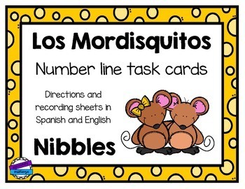Number Line Task Cards [Spanish / English]