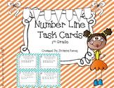 Number Line Task Cards for 1st Grade
