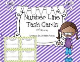 Number Line Task Cards for 2nd Grade