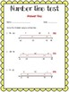 Number Line Test with answer key!