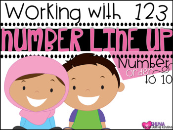 Number Line Up  {A Working With Numbers Center}