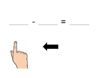 Number Line Visual Aid (Subtraction)