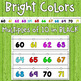 Number Line Wall Display Bulletin Board - White Series