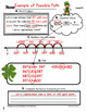 Number Line Word Problems-Leveled for Differentiation {Spring Edition}