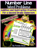 Number Line Word Problems-Leveled for Differentiation {Spr