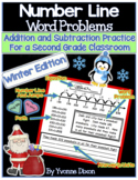 Number Line Word Problems-Leveled for Differentiation {Win