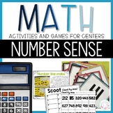 Number Sense: Number Line and Hundred Chart Math Centers