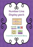 Number Line display pack - Essential Math skill