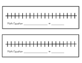 Number Line for Addition & Subtraction Equations (2nd Grade CC)