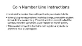 Number Line for Coins